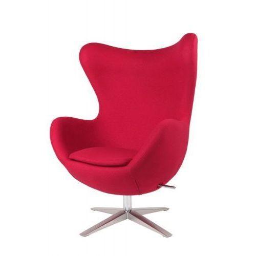 Fotel Jajo Soft wełna czerwony JA-2712, d2-4228