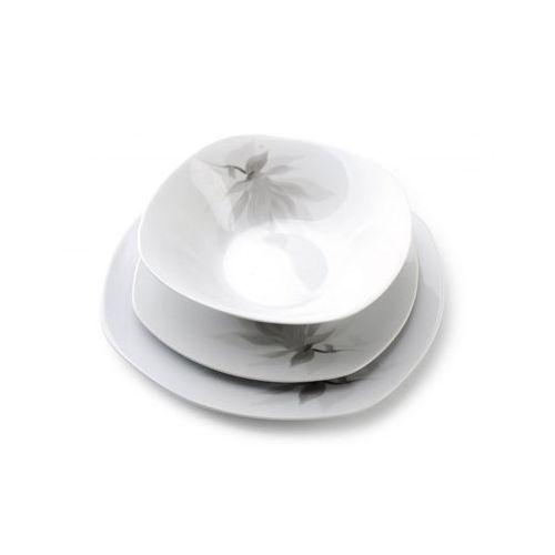 Mondex Serwis obiadowy porcelanowy 18 el magnolia komplet
