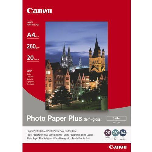 Papier fotograficzny CANON Photo Paper Plus Semi-gloss 260g A4 SG-201 (4960999405377)
