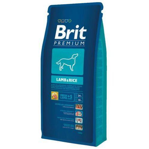premium adult lamb & rice jagnięcina dla psów dorosłych opak. 1/3/8/15kg marki Brit