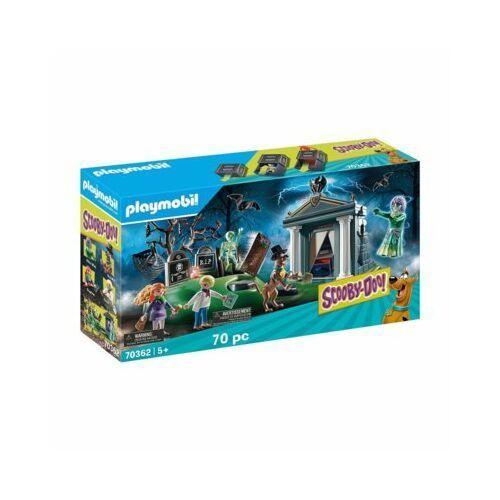 Playmobil Zestaw figurek Scooby-Doo Przygoda na cmentarzu 70362 70362 70362 (4008789703620)