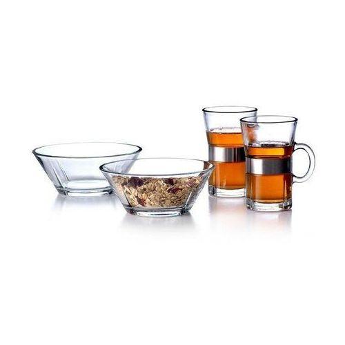 Szklanki i miseczki grand cru zestaw śniadanowy dla 2 osób marki Rosendahl