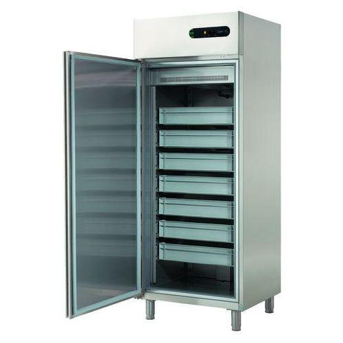 Szafa chłodnicza na ryby 1-drzwiowa, lewostronna, 600 l, 760x729x2005 mm | , ecf-601 l marki Asber
