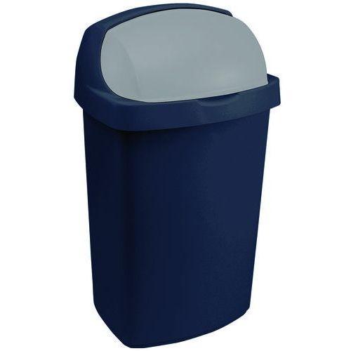Curver Kosz na śmieci 175447 50l granatowo-szary