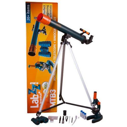 Zestaw LEVENHUK LabZZ MTB3 z mikroskopem, teleskopem i lornetką + DARMOWY TRANSPORT! (0611901504889)