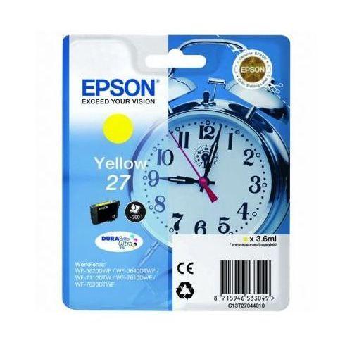 Epson Tusz oryginalny t2704 żółty do  workforce wf-7110 dtw - darmowa dostawa w 24h