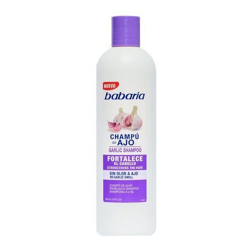 Babaria szampon czosnkowy do włosów słabych i łamliwych bezzapachowy 600ml, 1542