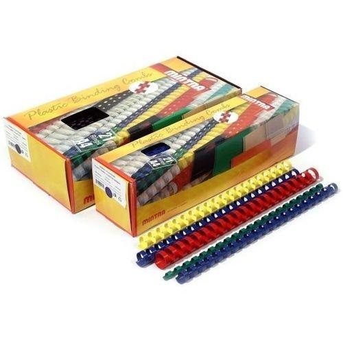 Grzbiety plastikowe do bindowania 28,5mm, 50szt., NB-845