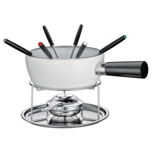 zestaw do fondue serowego dla 6 os. z rączką, białe