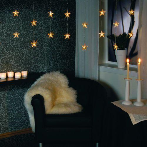 LED STAR - Firanka świecąca LED L Biały, kup u jednego z partnerów
