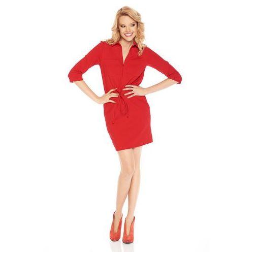 Sugarfree Sukienka mae w kolorze czerwonym