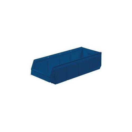 Otwarty pojemnik magazynowy z polipropylenu,LxBxH 600 x 230 x 150 mm, opak. 10 szt.