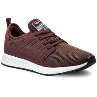 Sneakersy SPRANDI - MP07-17097-03 Bordowy, w 6 rozmiarach