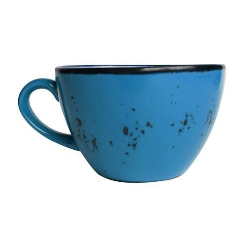 Filiżanka porcelanowa do cappuccino iris 285 ml marki Fine dine
