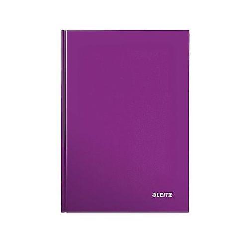 Brulion w kratkę A4 80k. Leitz WOW, fioletowy 46281062