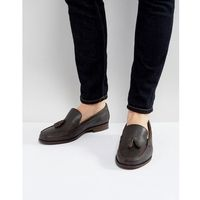 tassel loafers in brown leather - brown, Ben sherman
