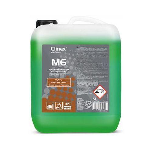 Clinex Płyn m6 medium 5l 77-094, do mycia mikroporowatych posadzek (5907513270591)