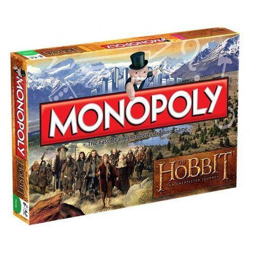 Gra Monopoly z filmu Hobbit - wersja angielska (WIMO019385) z kategorii Gry planszowe
