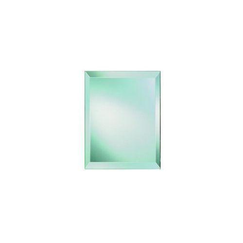 Lustro łazienkowe bez oświetlenia FLIZY SREBRO 30 x 20 cm DUBIEL VITRUM, kolor biały