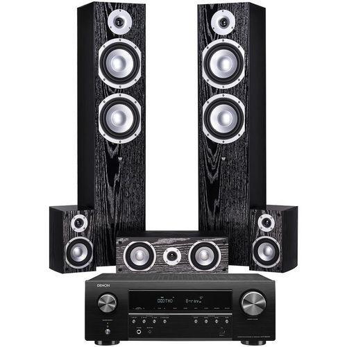 Kino domowe DENON AVR-S650H + WILSON Estrada Czarny (2909379190801)
