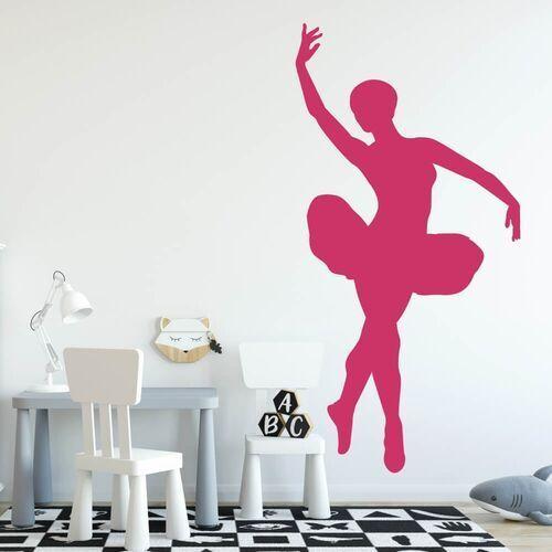 Wally - piękno dekoracji Naklejka welurowa dla dzieci tancerka 2404