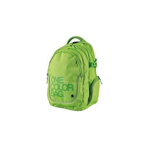 Stil Plecak szkolny teen one colour zielony