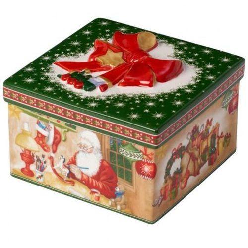 "Villeroy & boch - christmas toys pudełko prezentowe ""warsztat świętego mikołaja"""
