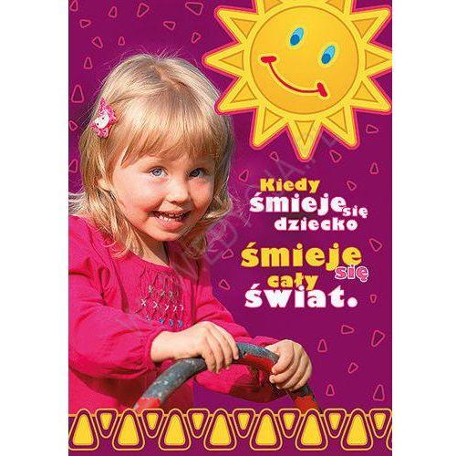 Kartka uśmiech dziecka - śmiech marki Edycja św. pawła