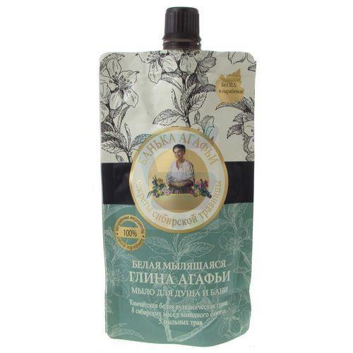 Bania agafii - mydło do ciała sauna i prysznic biała glinka 100ml