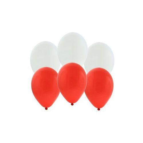 Balony urodzinowe Reprezentacja Polski - 25 cm - 20 szt. (5901238690009)