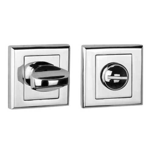 Schaffner Szyld drzwiowy clara wc chrom (5907467750460)