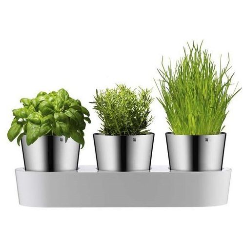 Zestaw 3 doniczek na zioła, Gourmet by WMF