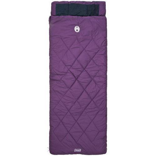 vail comfort śpiwór fioletowy śpiwory, marki Coleman