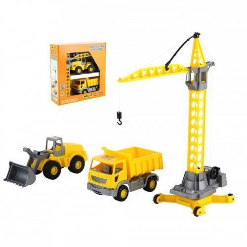 Wader-polesie Zestaw pojazdów budowlanych, pudełko