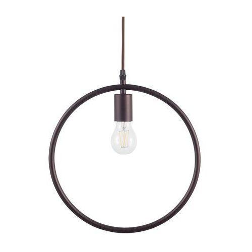 Beliani Lampa wisząca brązowa lomami (4260586352887)