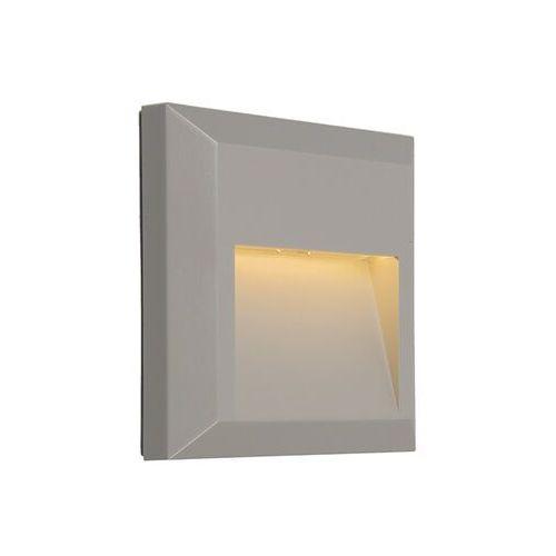 Zestaw 2 lamp ściennych szare - Gem 2