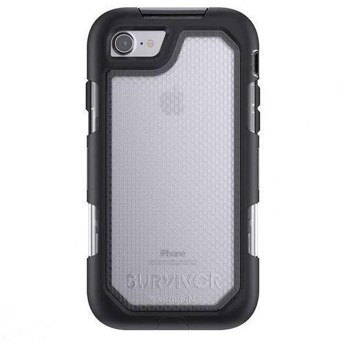 Griffin survivor extreme etui pancerne iphone 8 / 7 (czarny/przezroczysty)