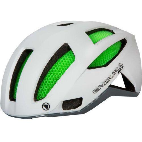 Endura pro sl kask rowerowy with koroyd zielony/biały s-m 2018 kaski rowerowe (5055939930268)