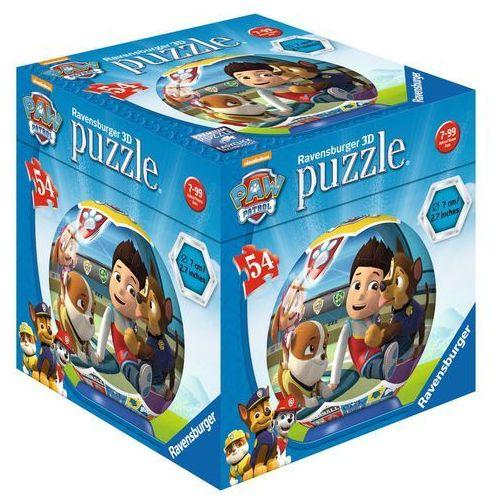 Puzzle Ravensburger 3D kuliste 54 elementy Psi Patrol (119172) + zakładka do książki GRATIS (4005556119172)