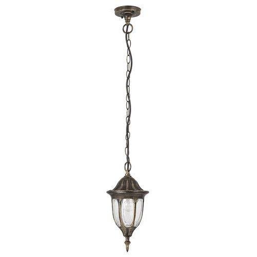 Lampa wisząca zewnętrzna milano 1x60w e27 ip43 antyczne złoto 8374 marki Rabalux