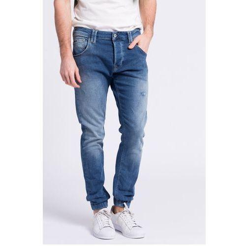 - jeansy gunnel marki Pepe jeans