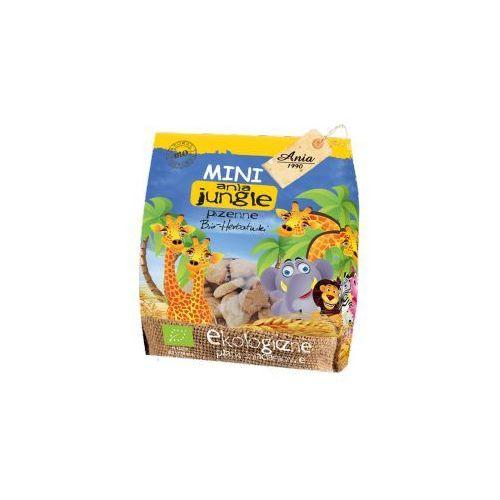 Herbatniki mini JUNGLE pszenne BIO 100 g Ania