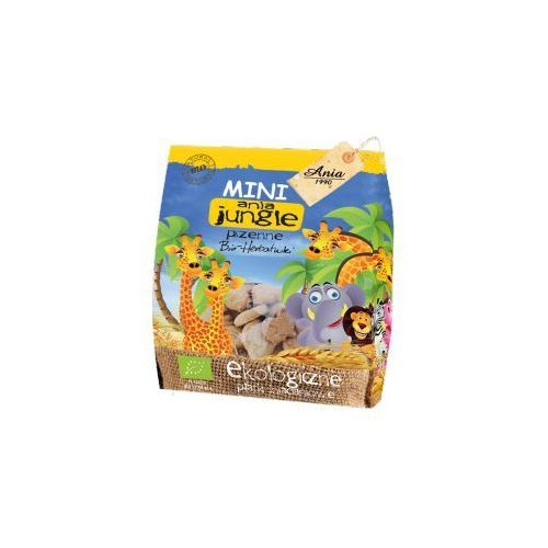 Holle Herbatniki mini jungle pszenne bio 100 g ania