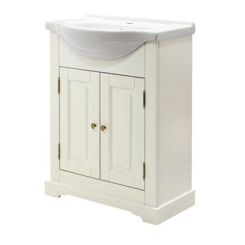 Szafka pod umywalkę Romantic 65 cm biała (5907441292528)
