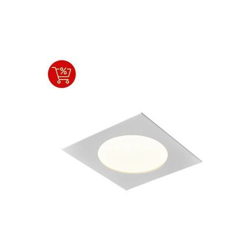 Aqform Aquatic square m930 hermetic wpuszczany biały 37928-m930-d9-ph-03