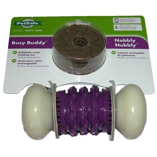 Kość dla psa - czyści psie zęby Busy Buddy Nobbly Nubbly S