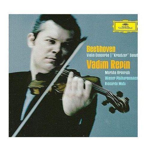 BEETHOVEN:VIOLIN CON.OP.61,SONATA KREUTZ - Vadim & Martha Argerich Repin (Płyta CD) (0028947765967)