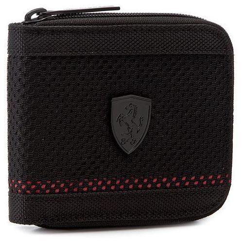 Duży Portfel Męski PUMA - Ferrari Ls Mesh Wallet M 074615 01 Puma Black