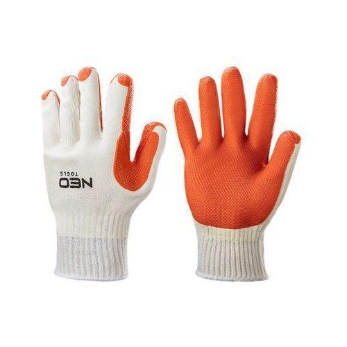 Neo Rękawice robocze 97-607 biało-pomarańczowy (rozmiar 10) (5907558433982)