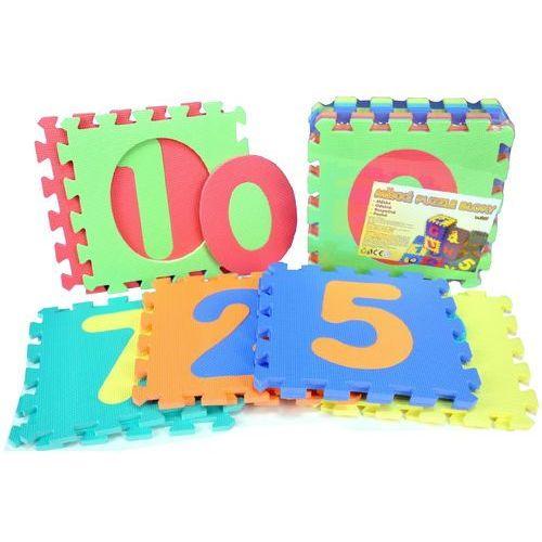 Teddies BABY Puzzle piankowe z cyframi 30x30cm - sprawdź w wybranym sklepie